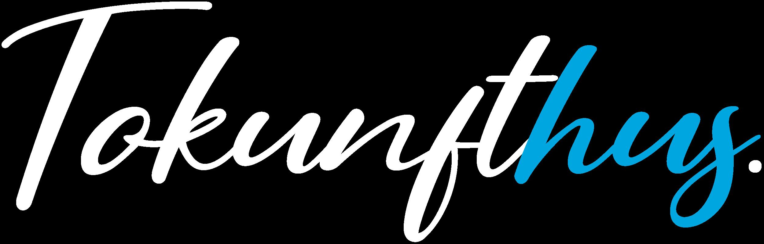 Tokunfthus Logo white
